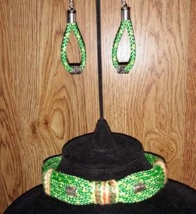 Handmade Choker Necklace & Earring Set